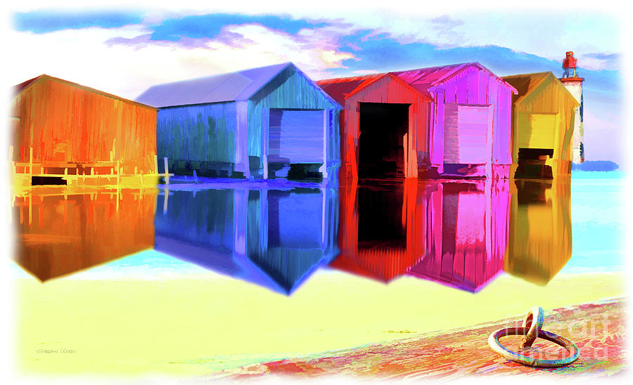 Funky Port by Gordon Wood