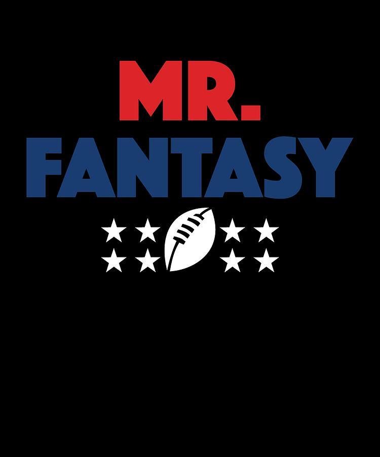 7183e41b Commissioner Digital Art - Funny Mr Fantasy Football Apparel by Michael S