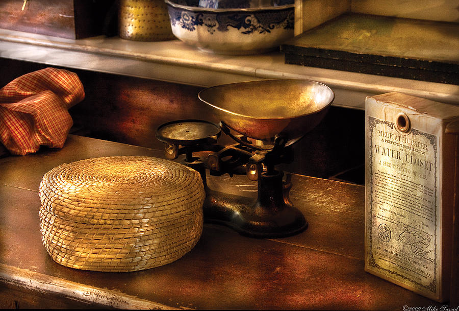 Savad Photograph - Furniture - Table - Curious Items For Sale  by Mike Savad