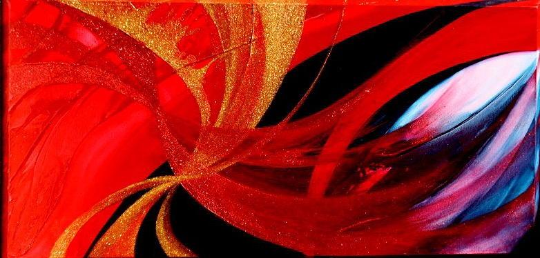 Fusion Painting - Fusion by Kumiko Mayer