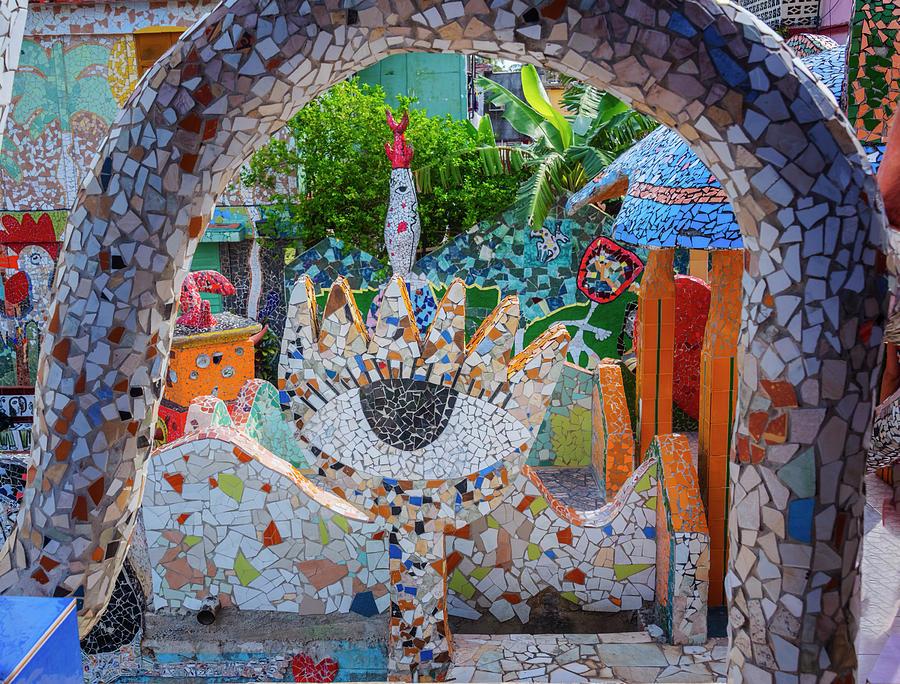 Joan Carroll Photograph - Fusterlandia Havana Cuba by Joan Carroll