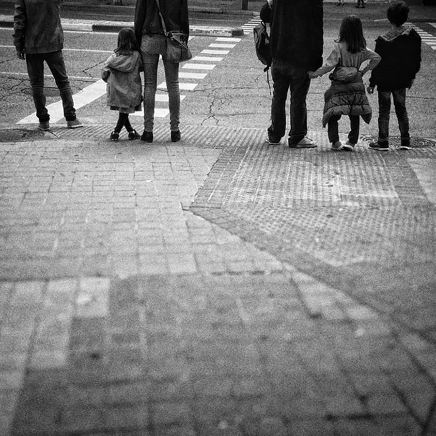 City Photograph - Future Crossers #people #instapeople by Rafa Rivas