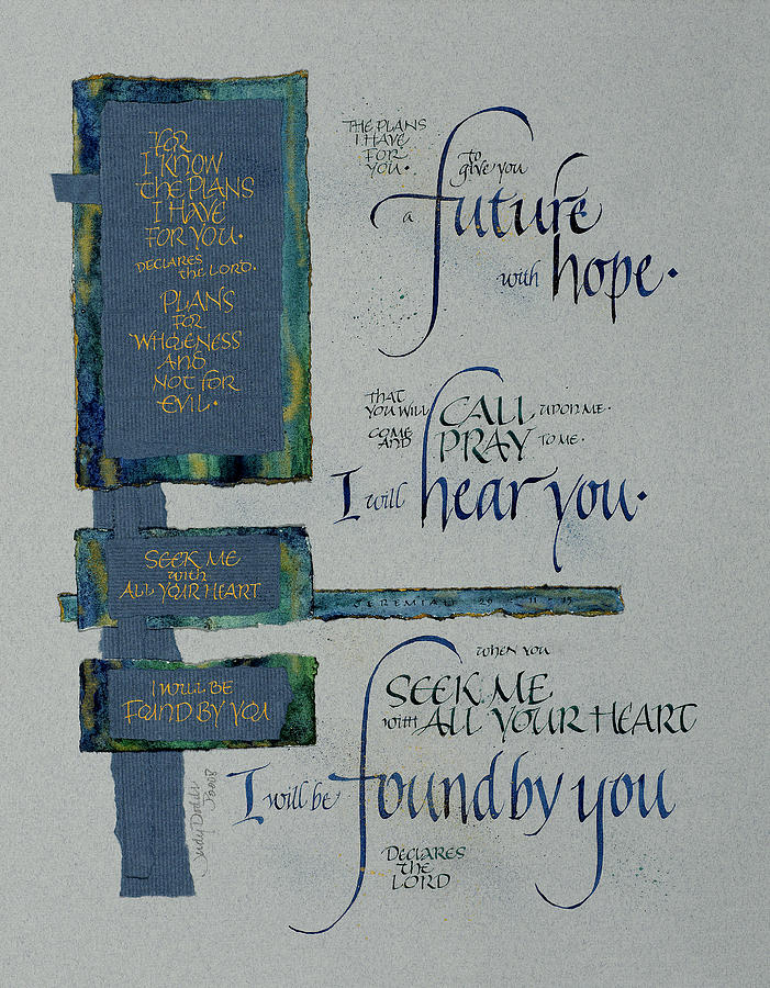 Achievement Mixed Media - Future Hope II by Judy Dodds