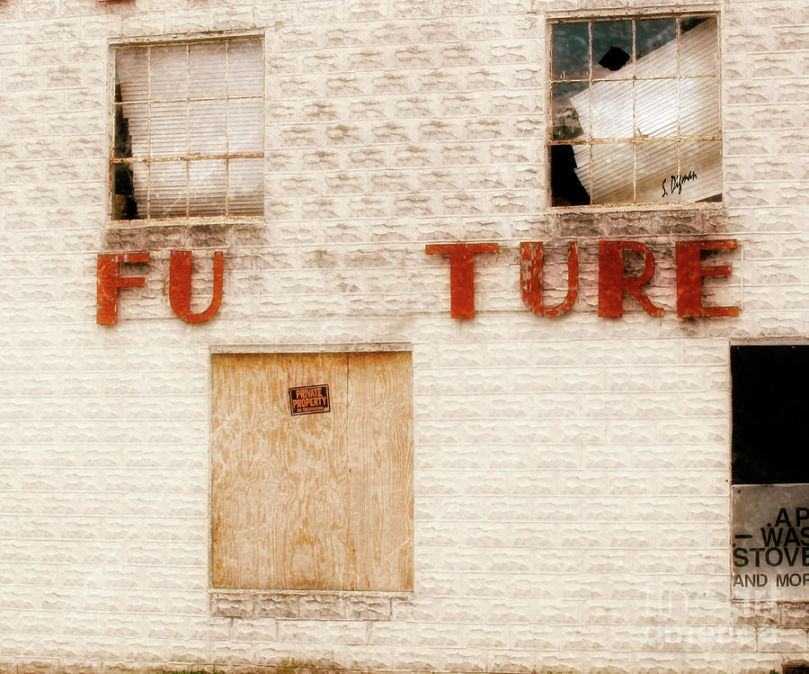 Stores Photograph - Future  by Steven Digman