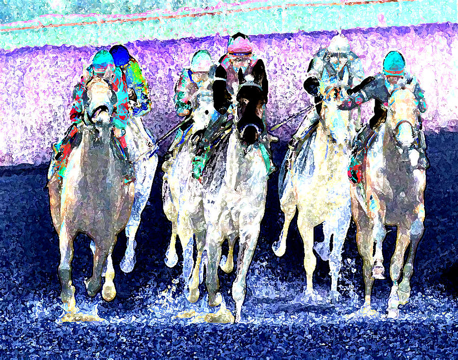 Horse Digital Art - Futurity by Gary Rogers
