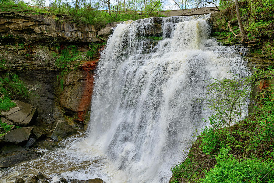 FX30A-153 Brandy Wine Falls by Ohio Stock Photography