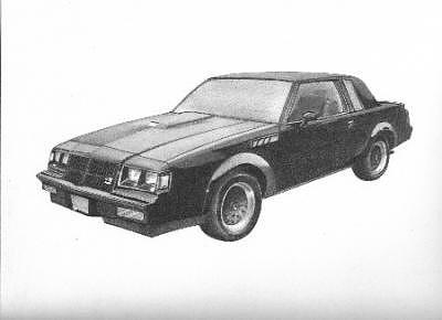 Car Drawing - G N X by Wanda Edwards