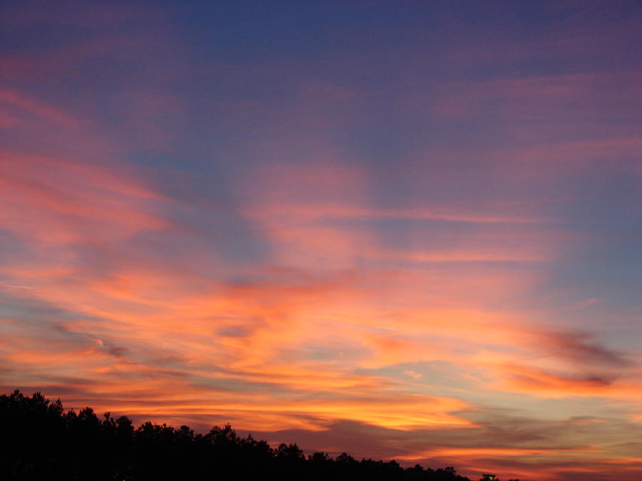 Ga Sunset Photograph by Kevin Blackstock