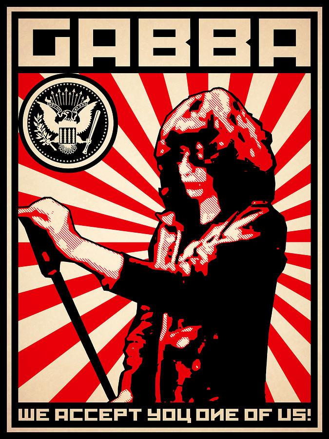 Ramones Digital Art - Gabba by Lance Vaughn