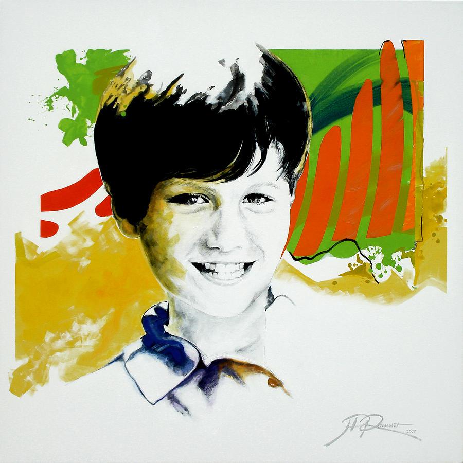Portrait Painting - Gabriel by Jean Pierre Rousselet