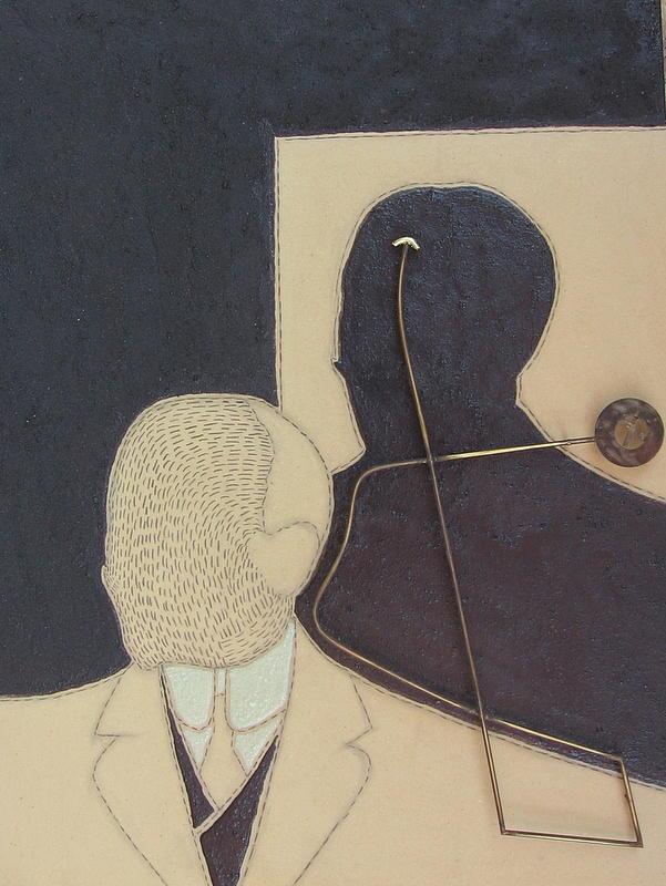 Gabriele D Annunzio Painting by Salvatore Daddario