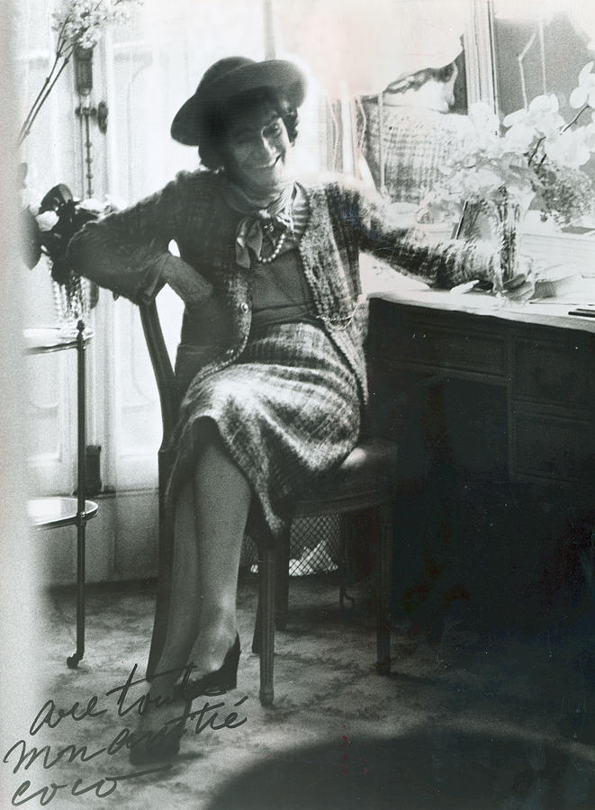Chanel Photograph - Gabrielle Coco Chanel, C. Mid 1960s by Everett