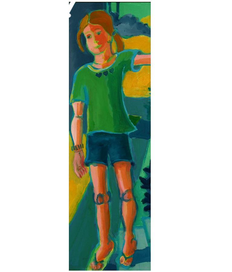 Portrait Painting - Gabrielle by Debra Bretton Robinson