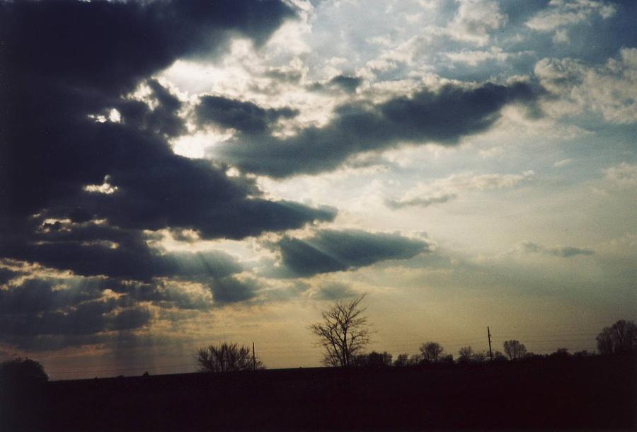 Ohio Photograph - Gahanna Ohio Landscape by Gene Linder