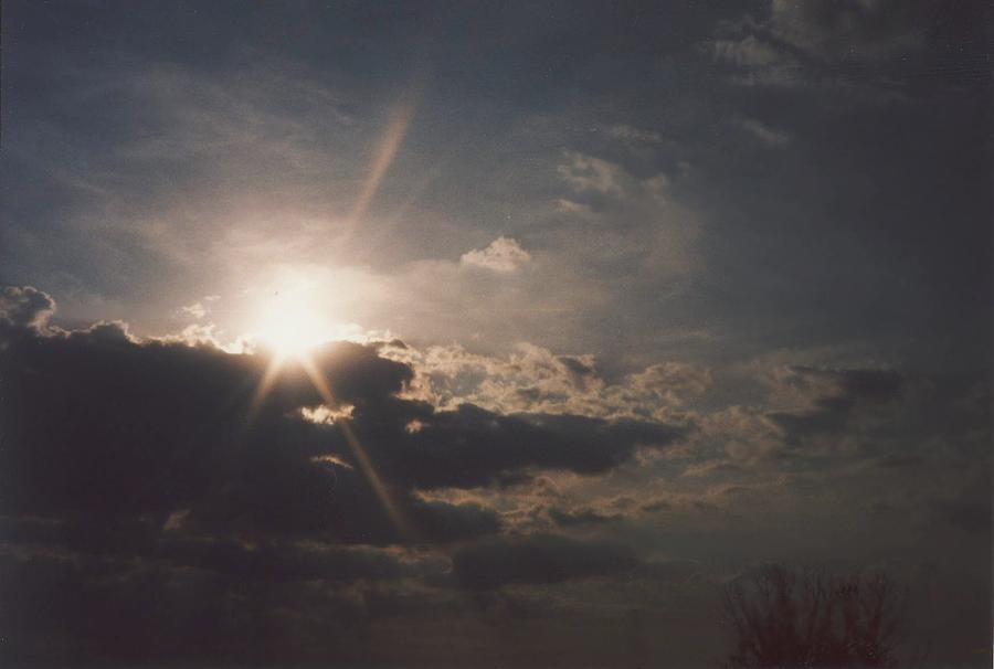 Landscape Photograph - Gahanna Sky Ohio by Gene Linder