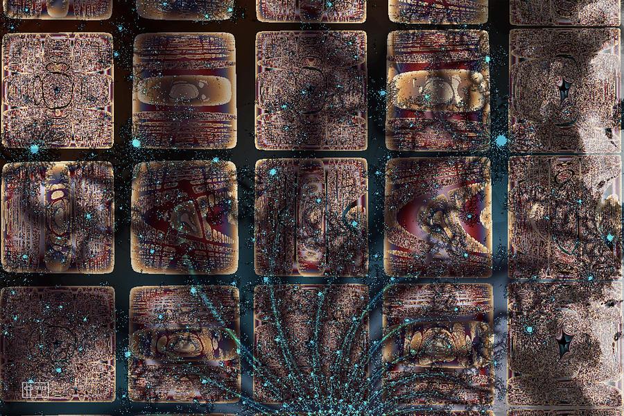 Galactic Grafitti Digital Art by Jim Pavelle