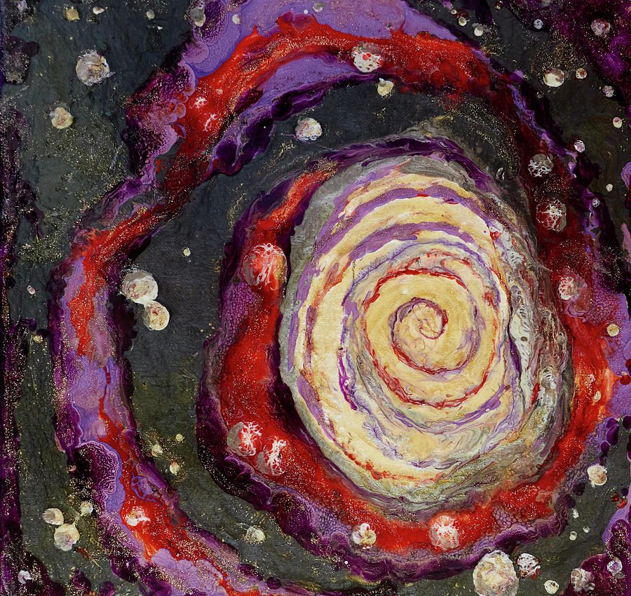 Galactic Spiral by Patricia Beebe