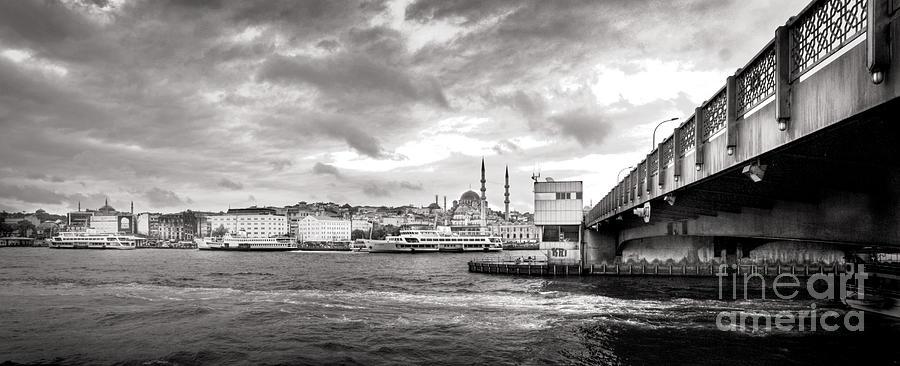 Galata Photograph - Galata Bridge by Kadir Murat Tosun