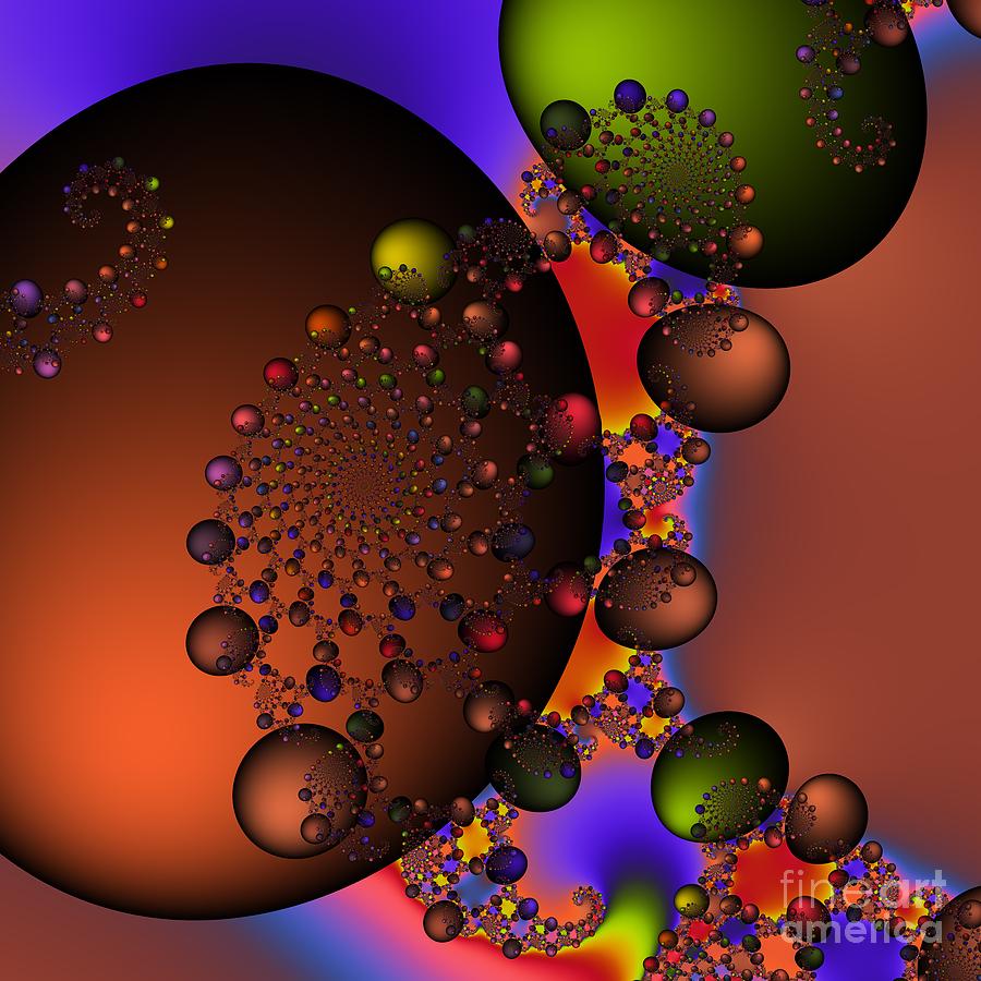 Zen Digital Art - Galaxy 213 by Rolf Bertram