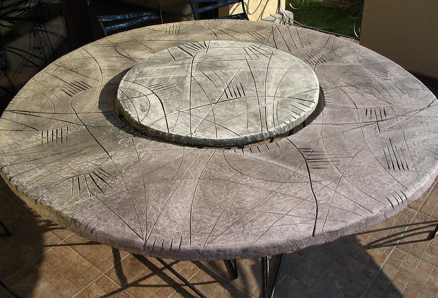 Table Sculpture - Galaxy by Hanc Alexandru