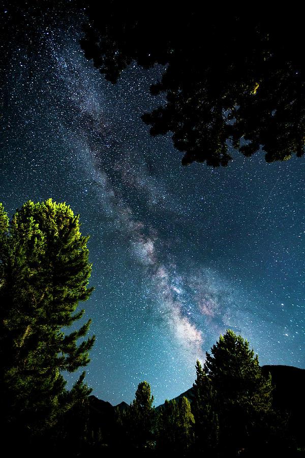 Colorado Photograph - Galaxy Love by Bryan Toro