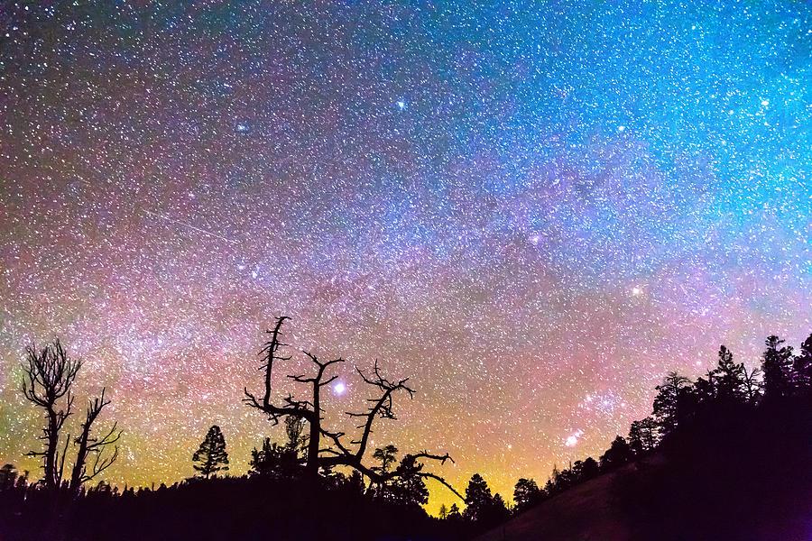 Galaxy Night Photograph
