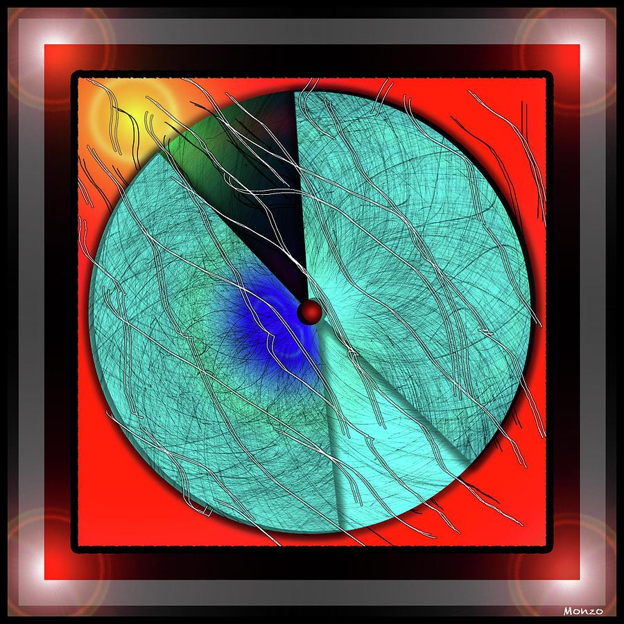 Galaxy Digital Art - Galaxy Number Six by Monzo Rock