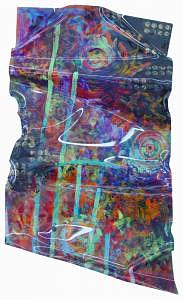 Abstract Painting - Galaxy by Shelley Tate Garner