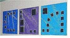 Blue Mixed Media - Galaxy Three Bottom Half by Carol Sabo