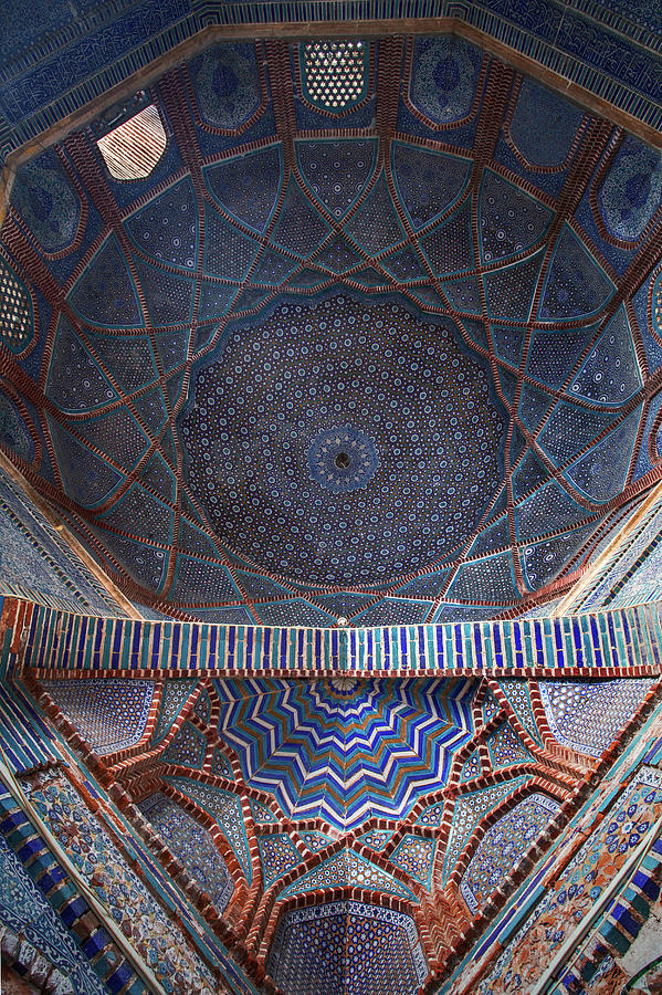 Islamic Architecture Photograph - Galaxy Under The Dome by Awais Yaqub