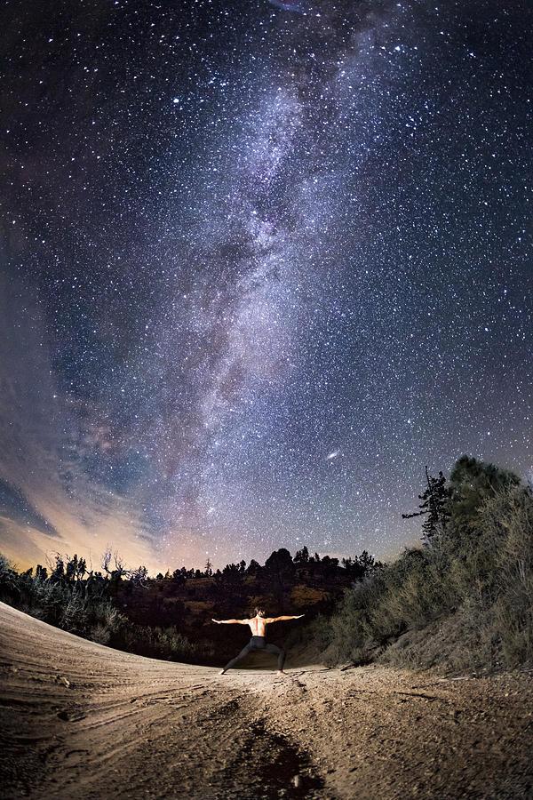 Star Photograph - Galaxy Warrior by Bryan Toro
