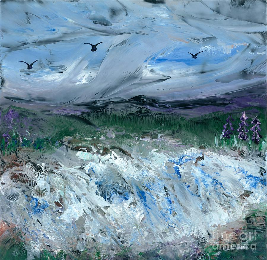Gale Winds Painting - Gale Winds by Lisa Grogan
