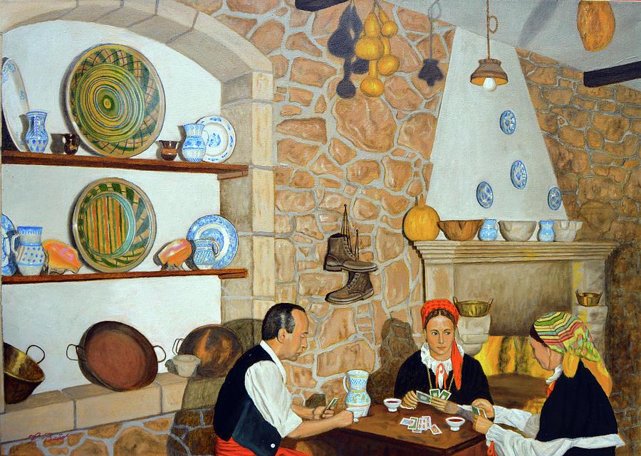 Galicia Mia Painting by Tony Banos