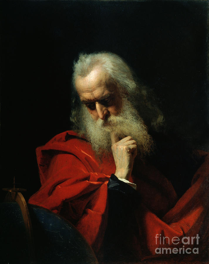 Galileo Painting - Galileo Galilei by Ivan Petrovich Keler Viliandi