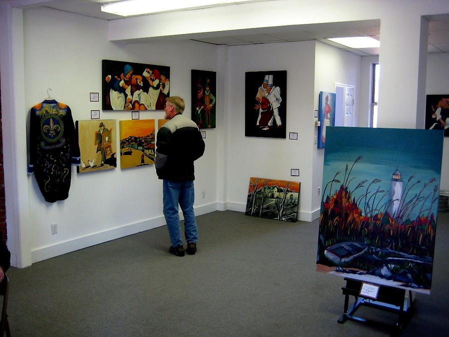 Annex Painting - Gallery Space For Rent by The Soulard ANNEX is for rent
