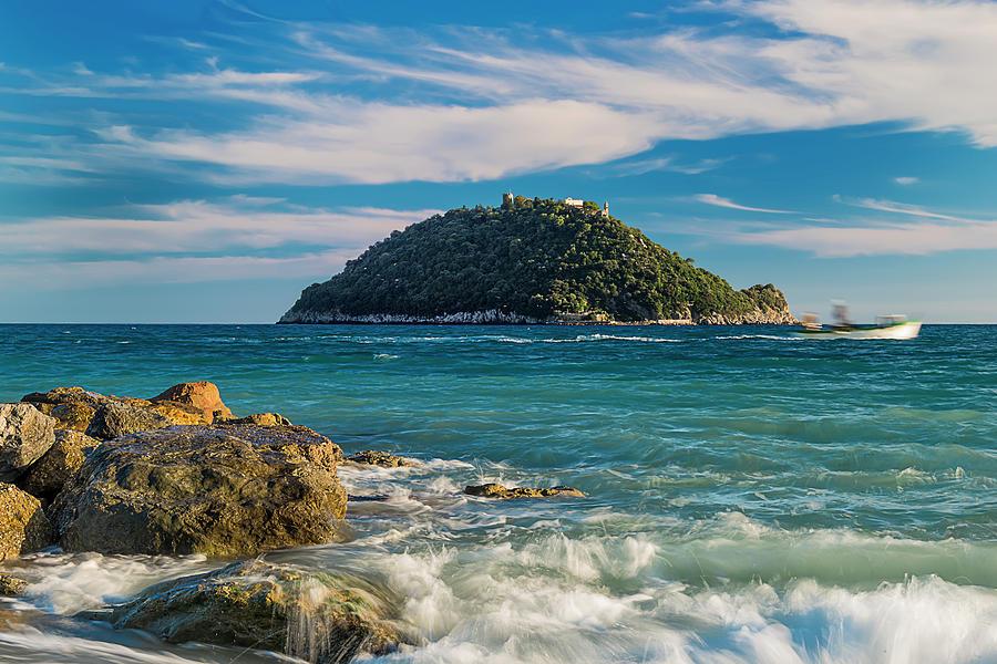 Liguria Photograph - Gallinara Island - Isola Della Gallinara by Enrico Pelos