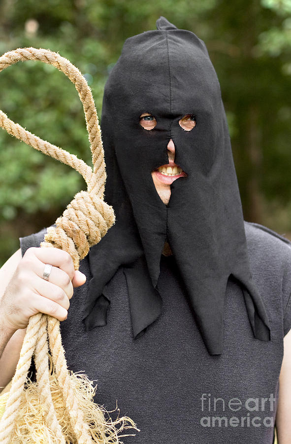 Adult Photograph - Gallows Hangman With Noose by Jorgo Photography - Wall Art Gallery