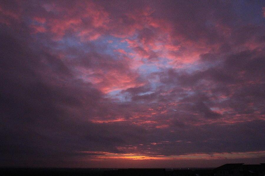 Galveston Texas Sunset Photograph by Snap