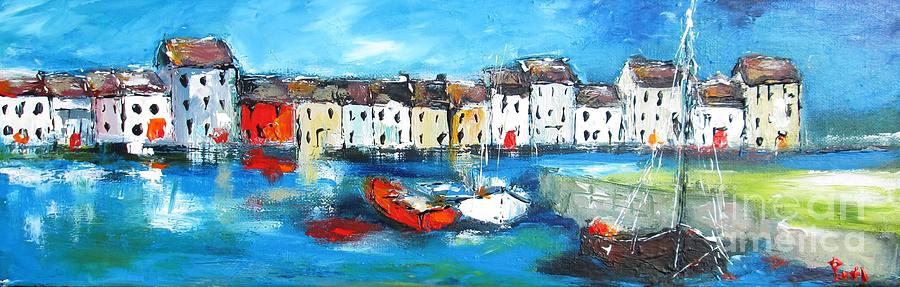 Galway Painting - Galway Panorama by Mary Cahalan Lee- aka PIXI