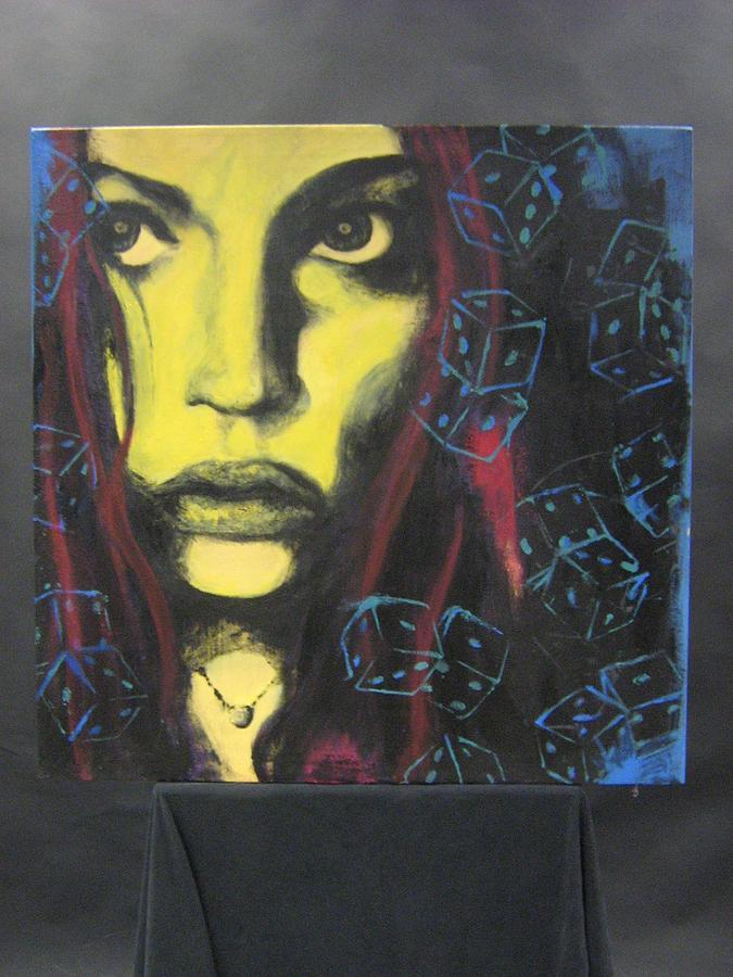 Portrait Painting - Gamble by Georgia  Harris