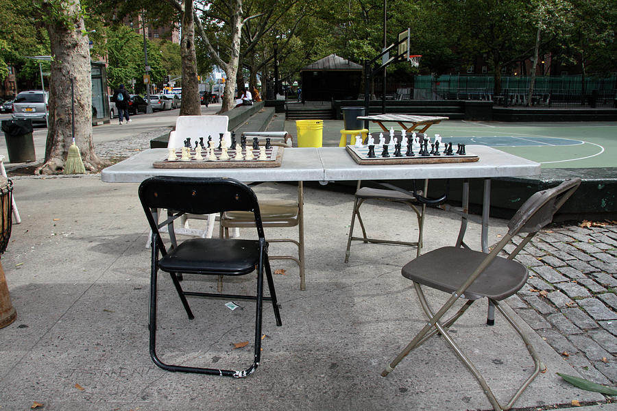 Harlem Photograph - Game Of Chess Anyone by Terry Wallace