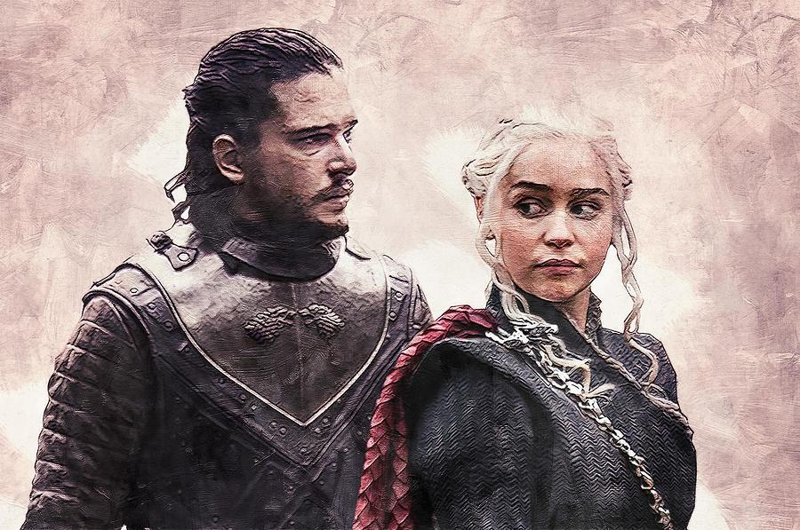 Game Of Thrones Jon Snow And Daenerys Targaryen