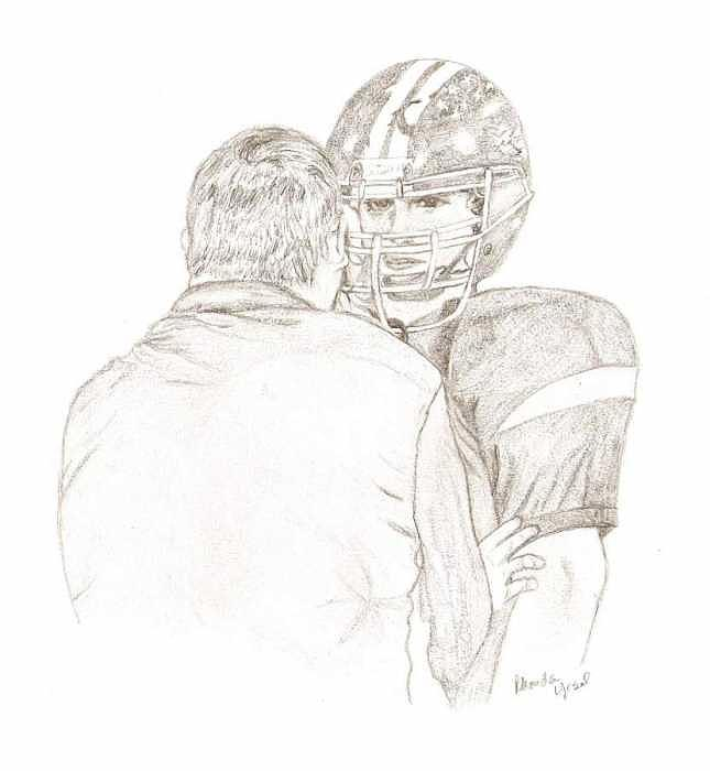 Game Talk Drawing by Rhonda  Yesel