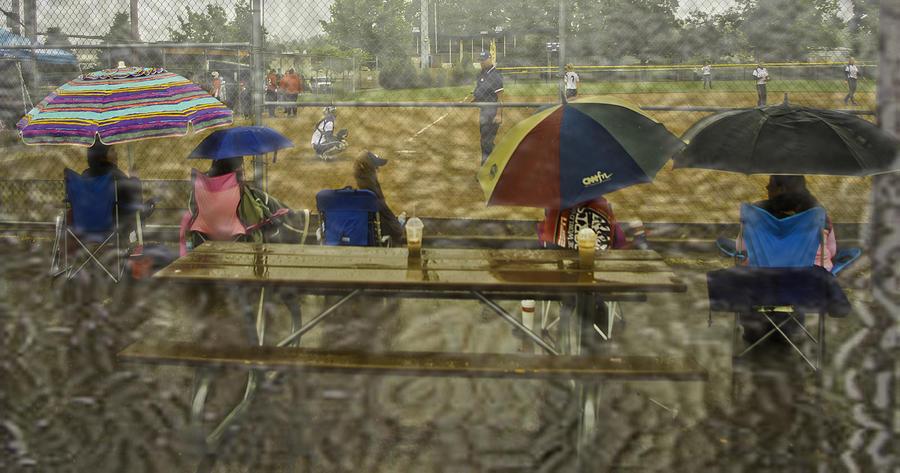 Umbrella Photograph - Game Watchers 2 by Dale Stillman