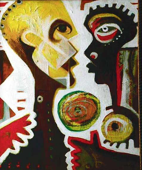 Modern Painting - Games by Robert Daniels