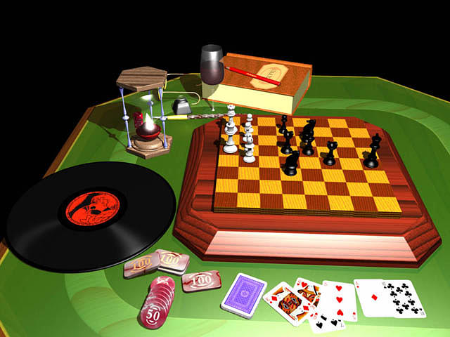 Gamingtable Digital Art By Guicap Studio - Digital board game table