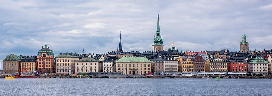 Gamla Stan Stockholms Entrance By The Sea Photograph