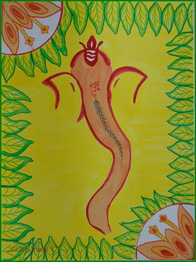 Ganadevta Painting