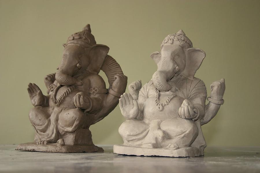 Ganapati Sculpture - Ganapati Idols by Mandar Marathe