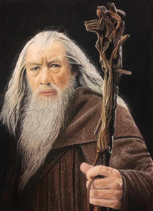 Gandalf the Grey by Marlene Little